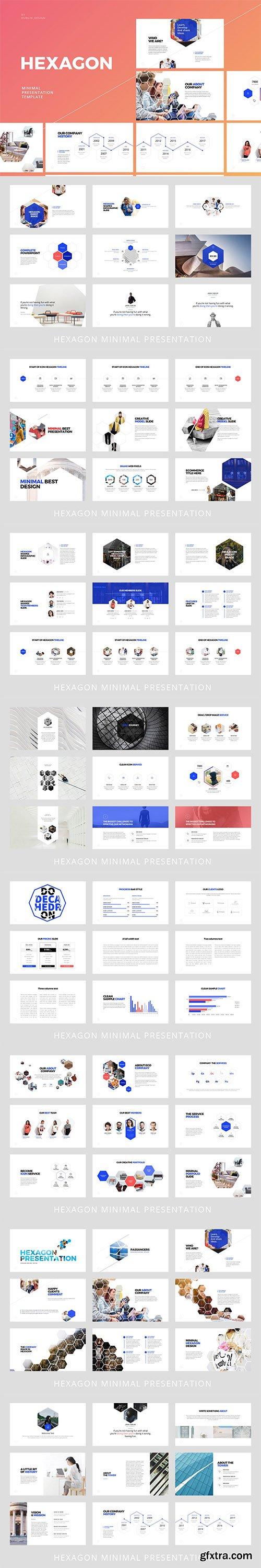 Hexagon - Powerpoint Template