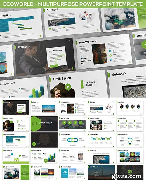 Ecoworld - Multipurpose Powerpoint Template