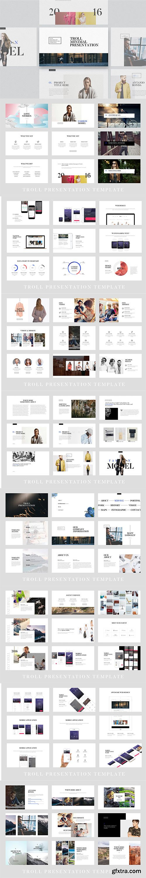 Troll - Powerpoint and Keynote Template