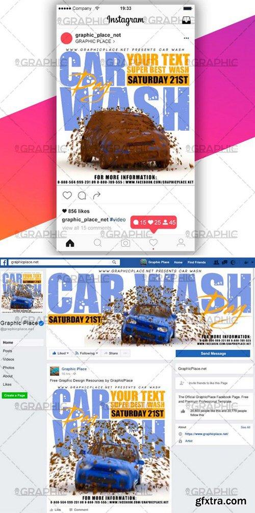 CAR WASH – SOCIAL MEDIA VIDEO TEMPLATE