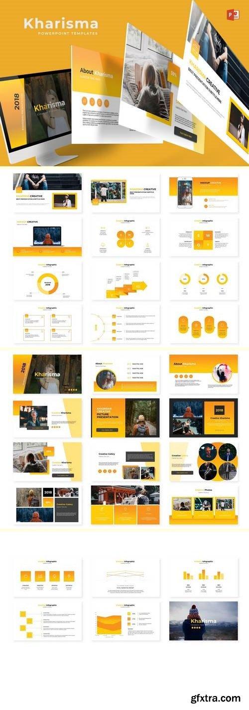 Kharisma - Powerpoint, Keynote and Google Sliders Template