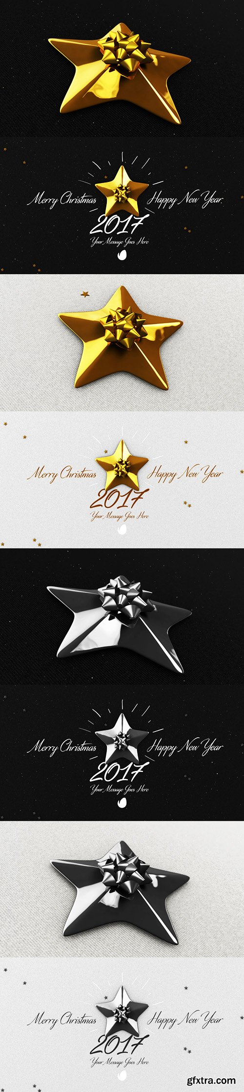 Videohive Christmas Cards   Pack 19151846