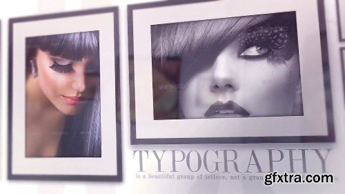 Videohive Elegant Photo Gallery On The Wall 10447020