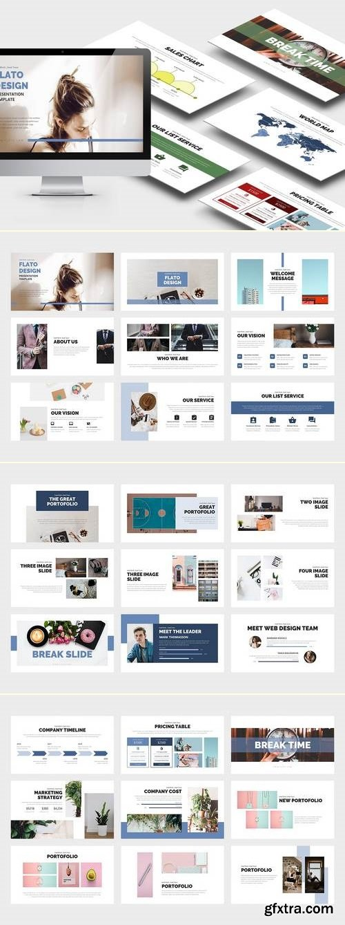 Flato : Creative Business Powerpoint Template