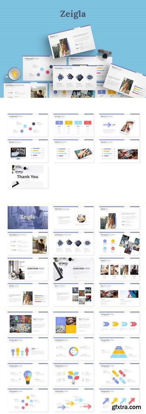 Zeigla - Powerpoint, Keynote and Google Sliders Template