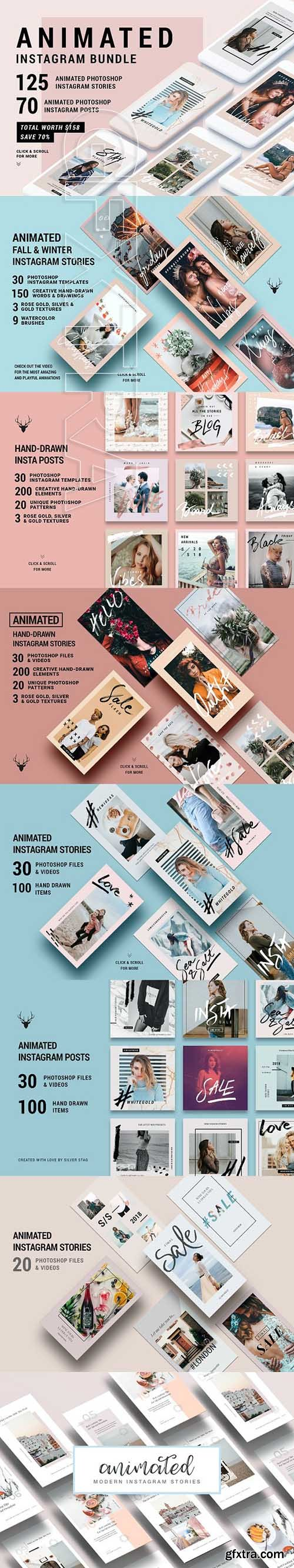 CreativeMarket - Ultimate ANIMATED Instagram 2905320