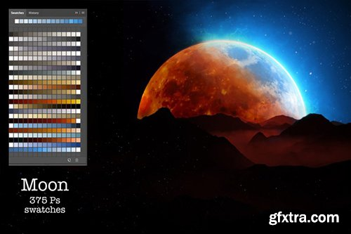 CreativeMarket - Moon Ps Swatches