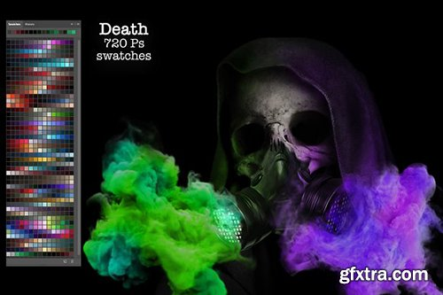 CreativeMarket - Death Ps Swatches 2902772