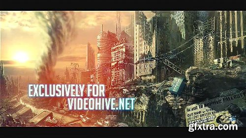 Videohive The Mission Trailer - Glitch Slideshow 10062835