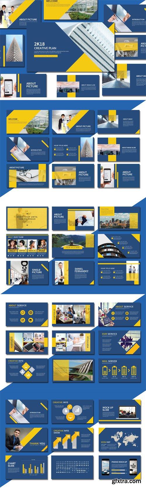Creative Presentation Template [PPT/PPTX]