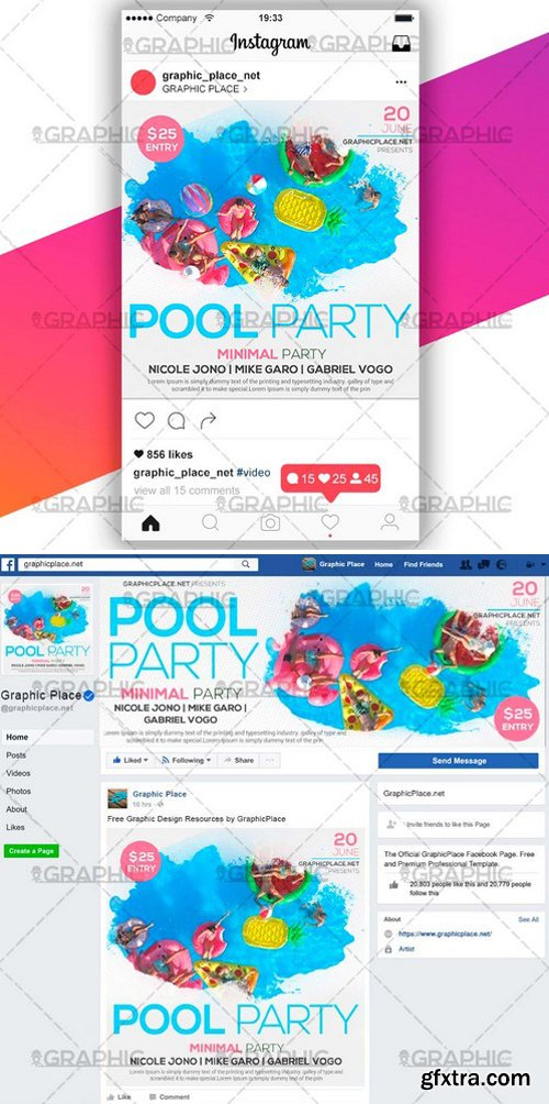 POOL PARTY – SOCIAL MEDIA VIDEO TEMPLATE