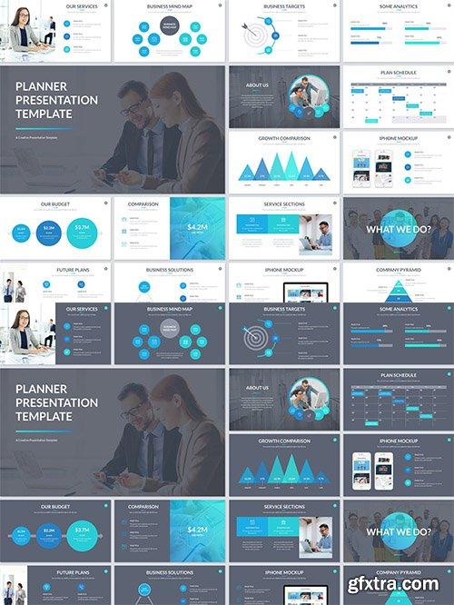Planner Presentation PowerPoint Template