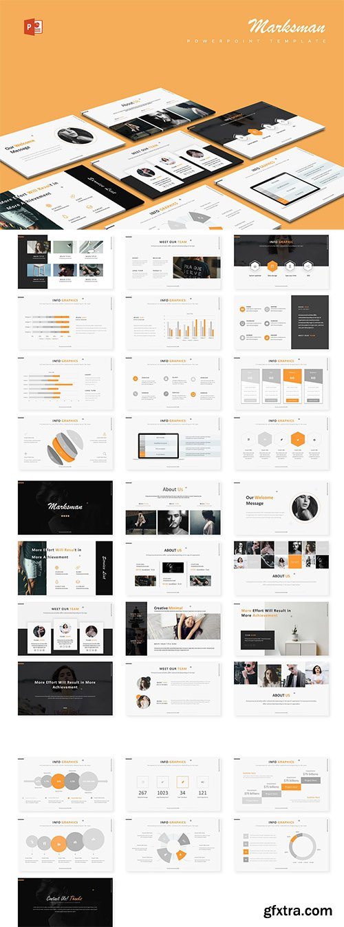Marksman - Powerpoint, Keynote and Google Slides Template