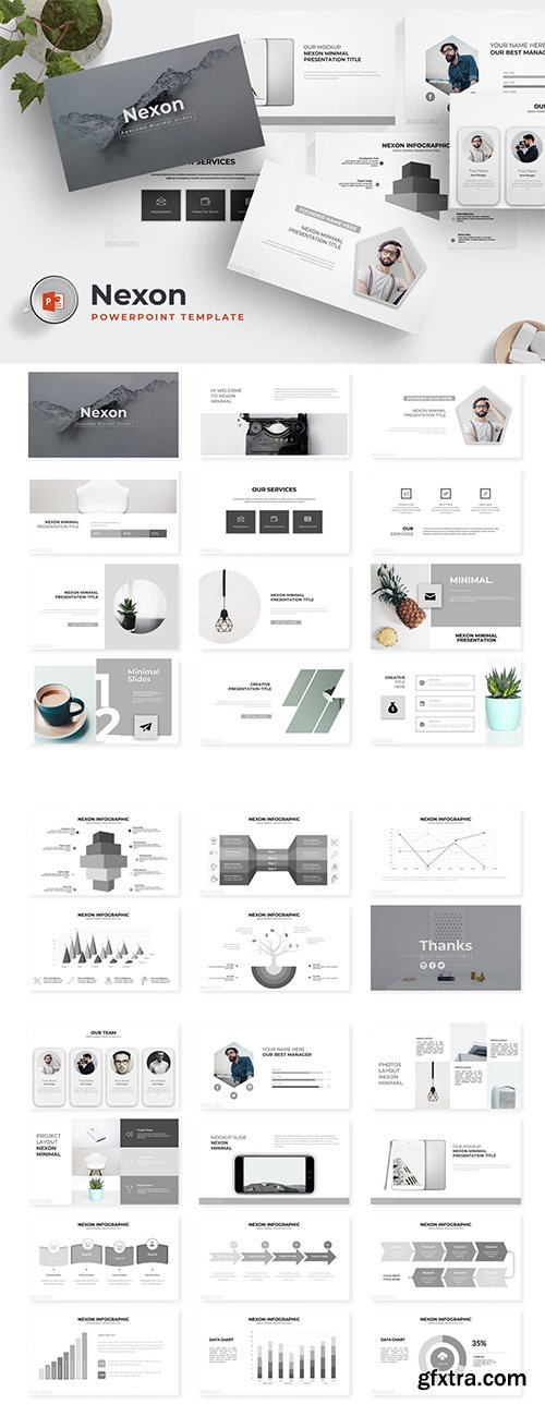 Nexon - Powerpoint, Keynote and Google Sliders Template