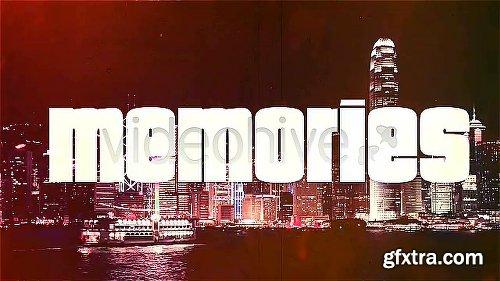 Videohive Travel Memories, Typography Slideshow 5085980