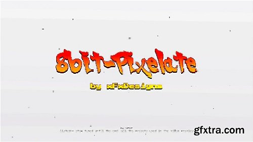 Videohive Arcade Text Maker 8bit Glitch Titles 20774500