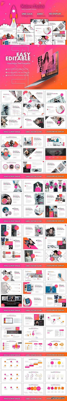 CreativeMarket - Great Modern Creative Powerpoint 2910871