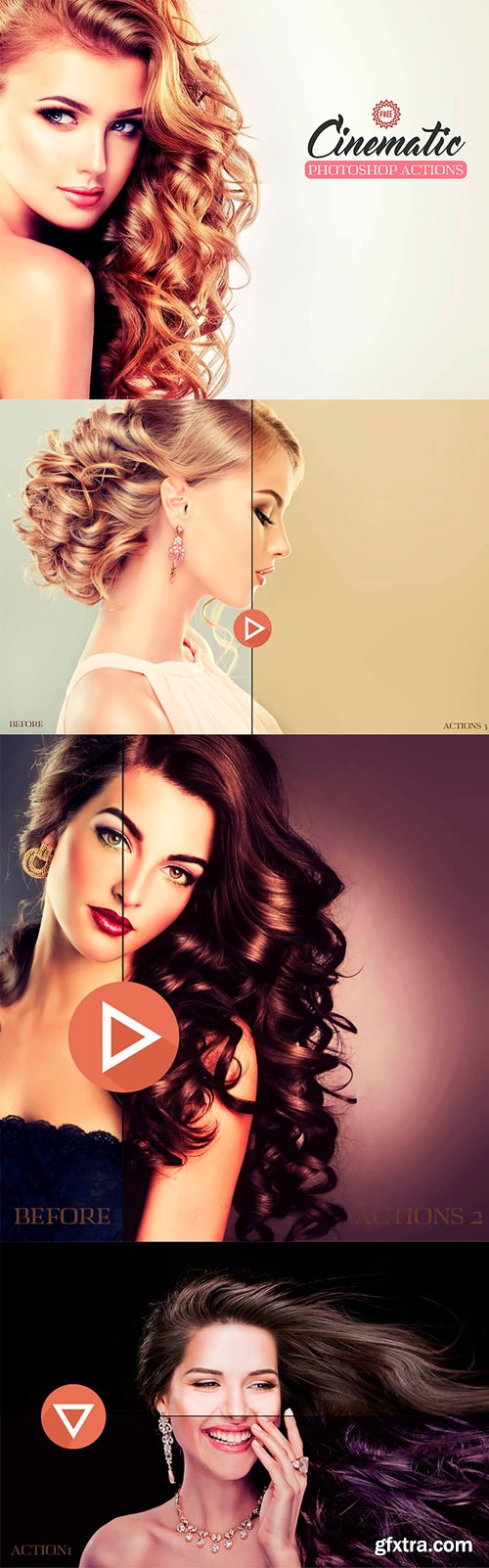 3 Cinematic Photoshop Actions