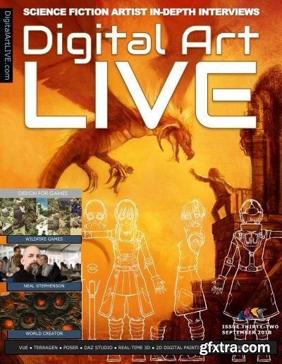 Digital Art Live - September 2018