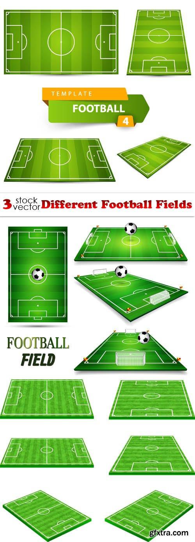 Vectors - Different Football Fields