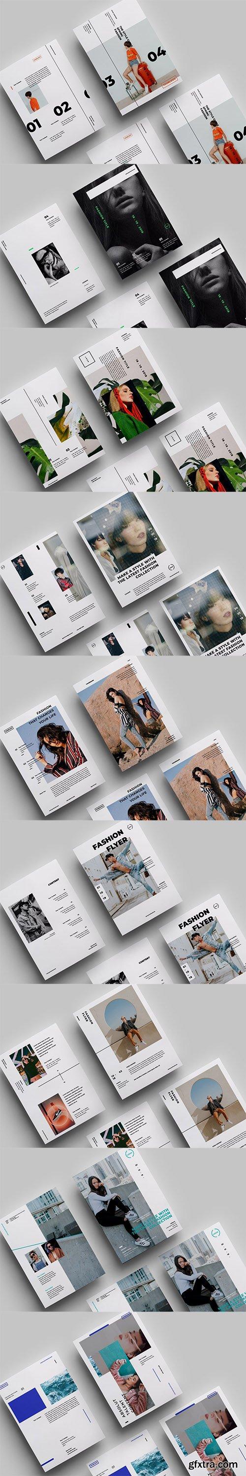 9 Minimalist Flyer Design