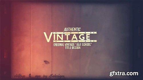 Videohive 8mm Slideshow Creator Tool For Vintage Film Look 7450527
