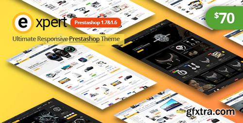 ThemeForest - Expert Responsive Prestashop 1.7&1.6 Theme - 22164794