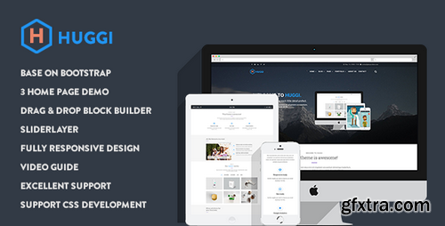 ThemeForest - Huggi - Responsive Business Drupal 8.5 Theme - 16474682