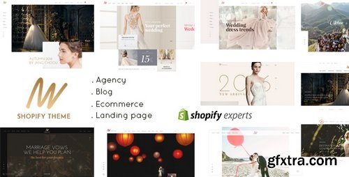 ThemeForest - The VOW v1.0.0 - Wedding Responsive Shopify Theme - 21637561