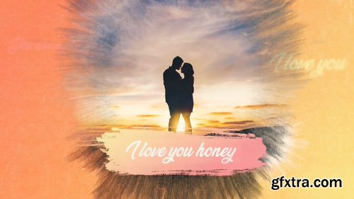 Videohive Romantic Ink Slideshow 22434221