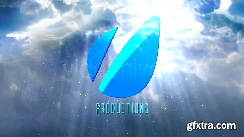 Videohive Cinematic Clouds Logo Reveal 4107813