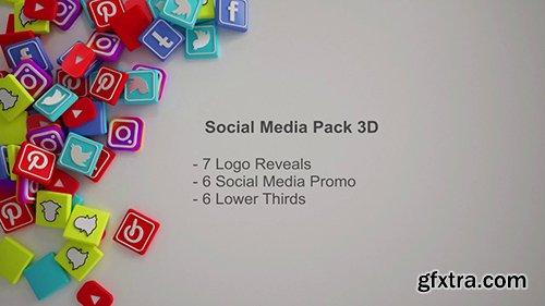 Social Media Promo Bundle 3D 108698