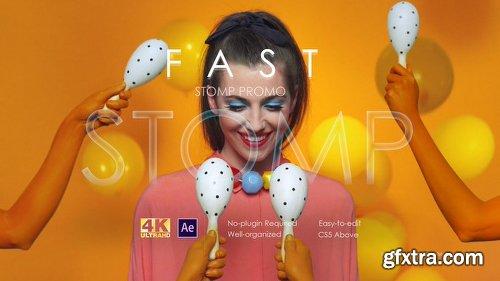 Videohive Fast Stomp Promo 22408307