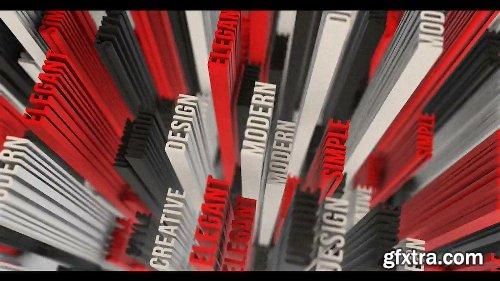 Videohive 3D Typo Logo Opener 21472808