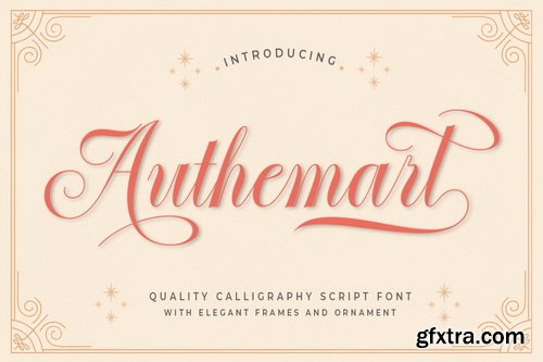Authemart Font Family