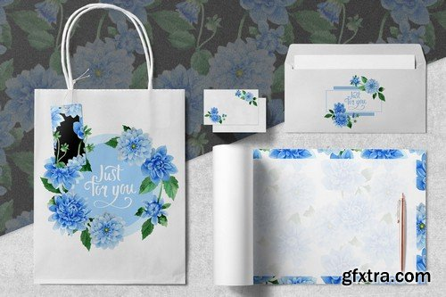Watercolor Mega Bundle - 20 Sets with over 500 Graphics