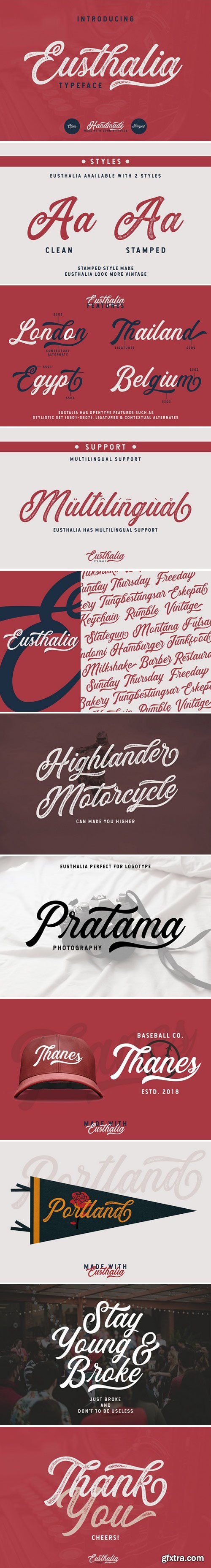 CM - Eusthalia Typeface 2751733