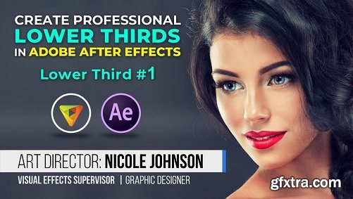 Lower Third #1: How to Create Cool Lower Thirds in Adobe After Effects CC