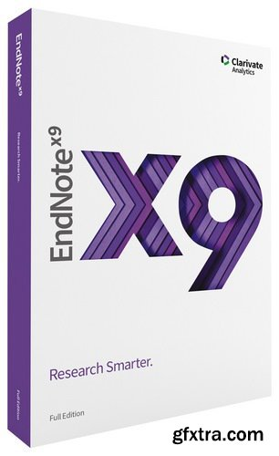 EndNote X9.3.2 Build 15235 macOS