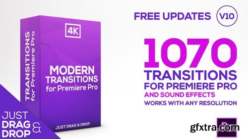 Videohive - Modern Transitions | For Premiere PRO V10 - 21922312
