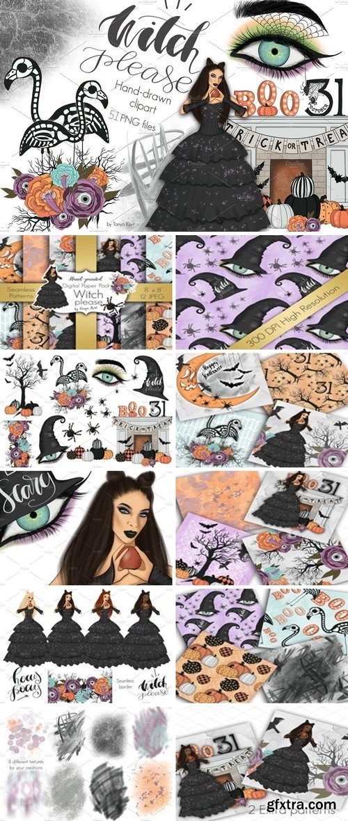 CM - Witch Please Halloween Design Kit 2741107