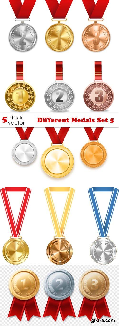 Vectors - Different Medals Set 5