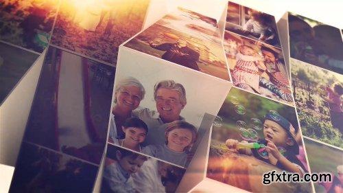 Videohive Photo Mosaic Slideshow 21428443