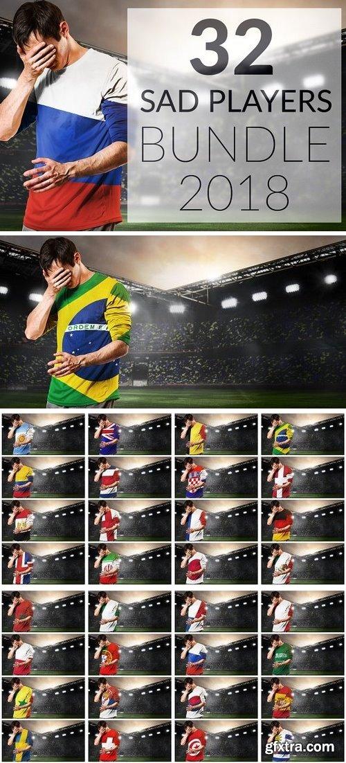 CM - Sad national soccer team players 2682527