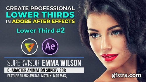 Lower Third #2: How to Create Cool Lower Thirds in Adobe After Effects CC