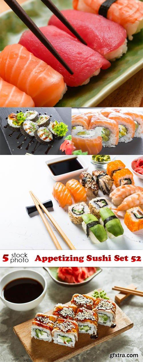Photos - Appetizing Sushi Set 52