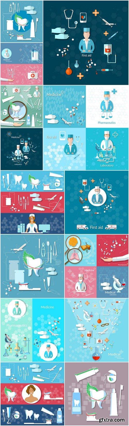 Medical set - 14xEPS