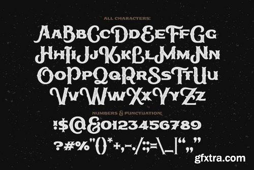 CreativeMarket True Black Typeface 2466985