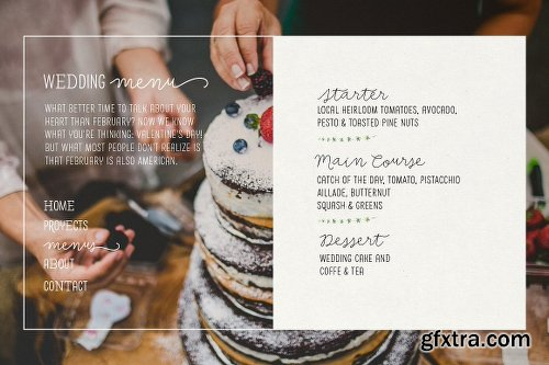 CreativeMarket Save the Date 2386002