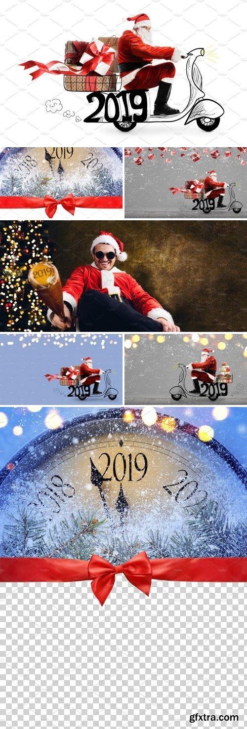 Stock Photos - New Year 2019